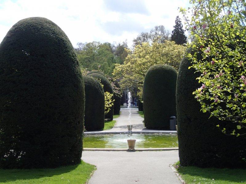 Im Maurischen Garten, Wilhelma Stuttgart (April 2016) | Foto: Heike Sichting