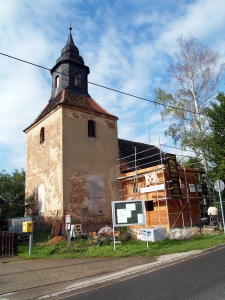Pilgerquartier noch ohne Dach Foto S.Adaschkiewitz   jpg