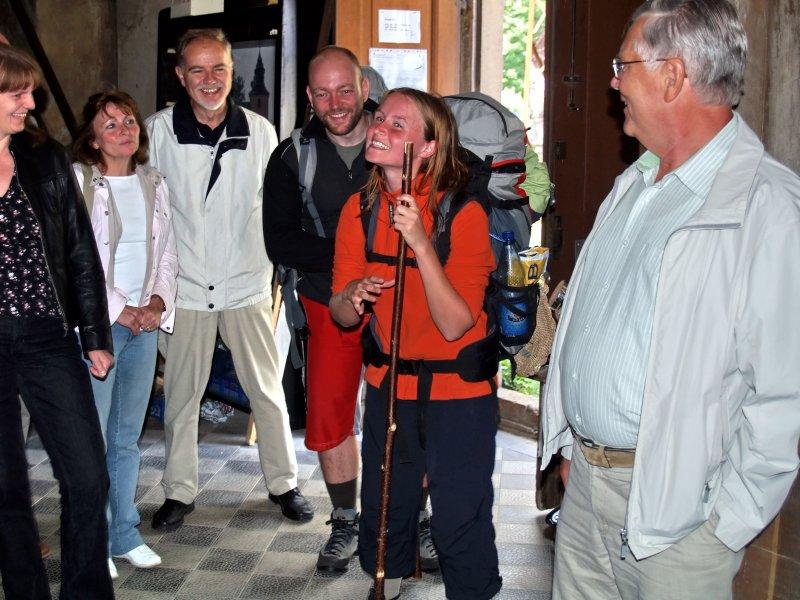 Unerwartete Pilger Foto S.Adaschkiewitz jpg