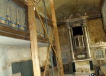 Einbinden Dachkonstruktion Pilgerquartier Foto S.Adaschkiewitz jpg