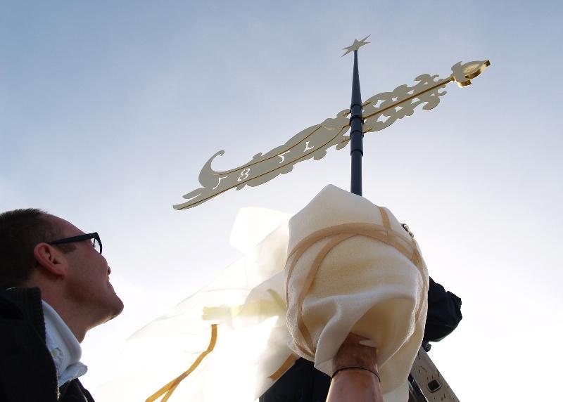 Turmkrönung (2008) | Foto: Siegfried Adaschkiewitz