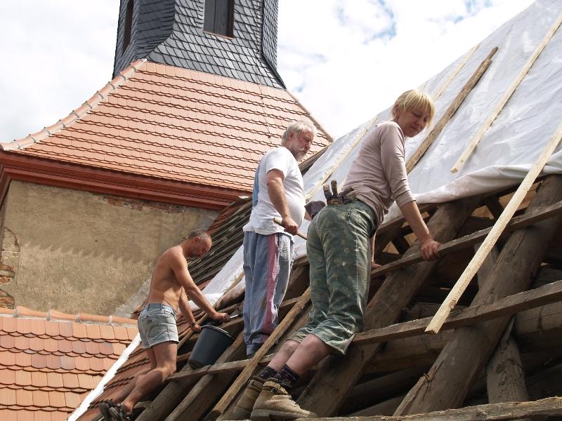 Dachabdecker (2008) | Foto: Siegfried Adaschkiewitz