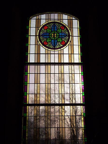 Zustand der Fenster (2008) | Foto: Heike Sichting