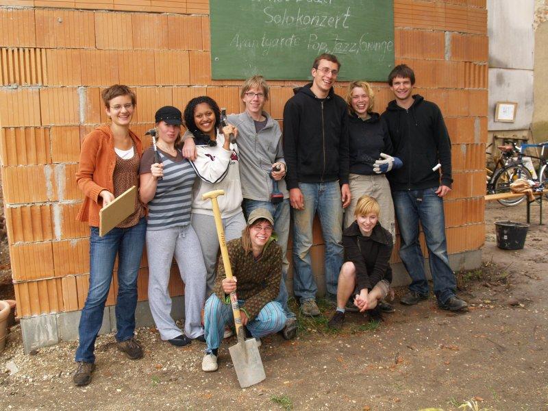 Abschiedsfoto vom Schülereinsatz Foto S.Adaschkiewitz jpg