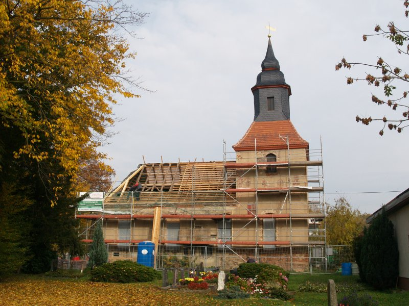 Dachdecker Firma Tilo Lehmann Foto S.Adaschkiewitz