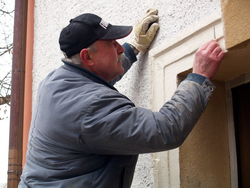 Arbeiten am Pilgerquartiereingang Foto S.Adaschkiewitz Jpg