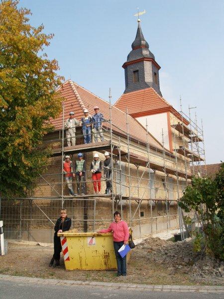 Bauorden mit Schülern aus der Ukraine und Russland Foto S. Adaschkiewitz jpg