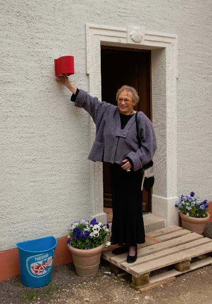 Der Lampenentwurf von Ursula Quester (Mai 2010) I Foto: Holger Simmat