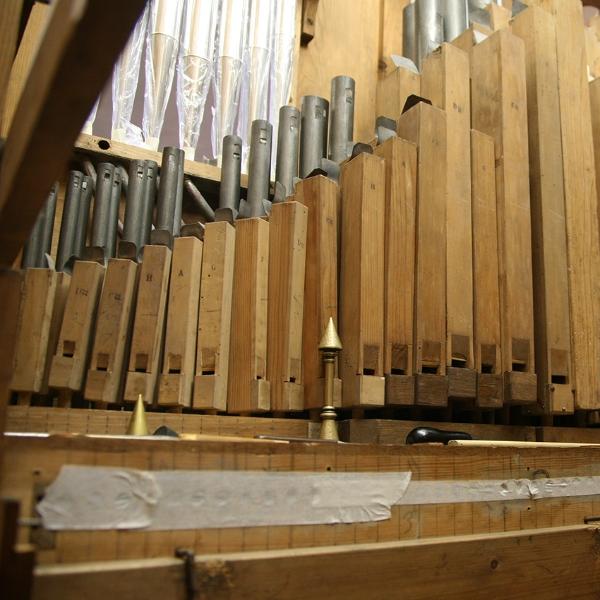 Orgelpfeifen (2012) | Foto: Heike Sichting