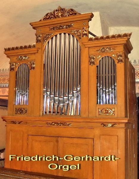 Die Friedrich- Gerhard- Orgrel nach der Restaurierung (2012) | Foto: Siegfried Adaschkiewitz