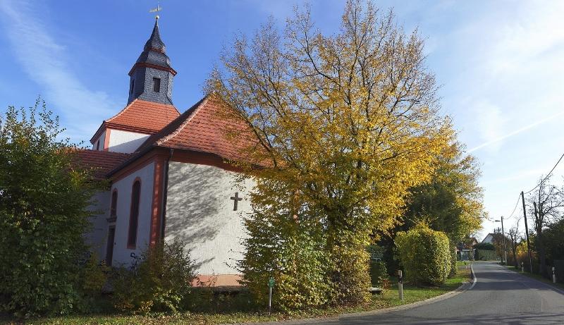 Panorama Bild der Kirche im Herbst (2012) | Foto: Thomas Weinbrecht