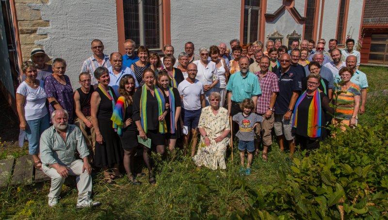 Der Verein zum 10-Jährigen| Foto: Holger Simmat