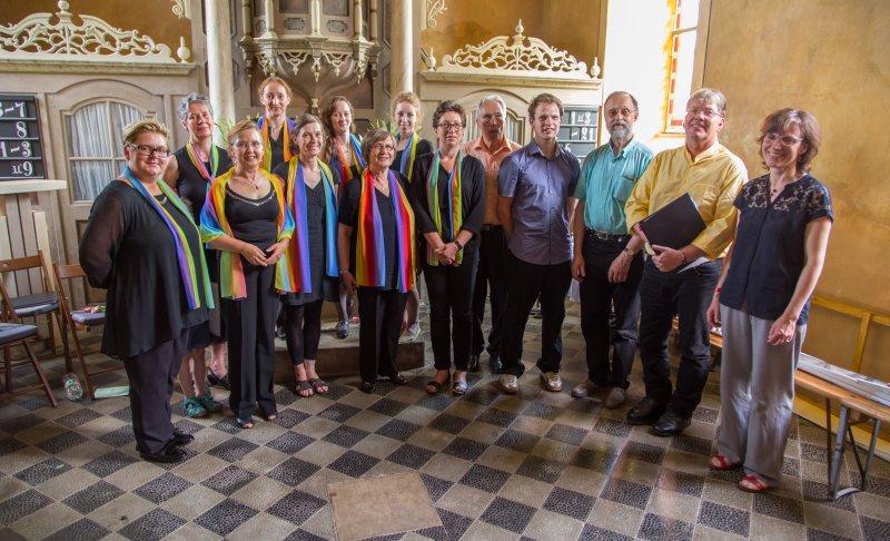 Kleinliebenauer Chor zum 10-Jährigen | Foto: Holger Simmat
