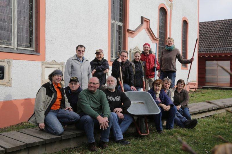 Das Team vom Frühjahrsputz (2014) | Foto: Heike Sichting