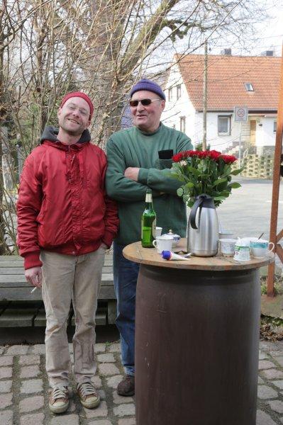 Henrik und Siegfried (beim Frühjahrsputz 2014) | Foto: Heike Sichting