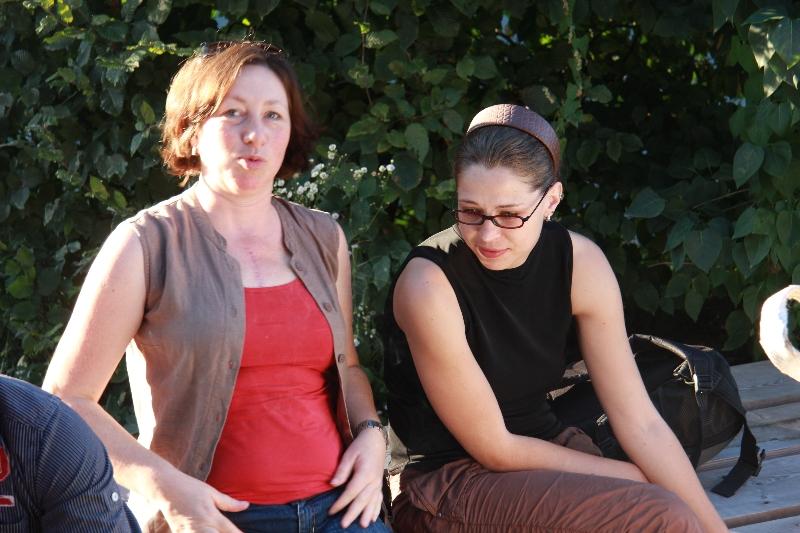 Jeanette und Sarah (2011) | Foto: Holger Simmat
