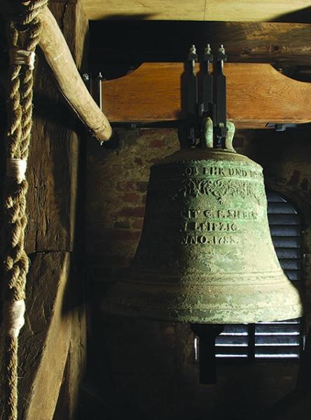 Glocke vor der Restaurierung (2008) | Foto: Heike Sichting