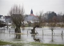 Hochwasser in Kleinliebenau 1 (2011) | Foto: Heike Sichting