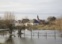 Hochwasser in Kleinliebenau 2 (2011) | Foto: Heike Sichting