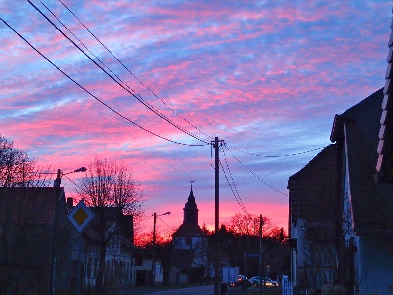 Abendrot im März (2015) | Foto: Heike Sichting