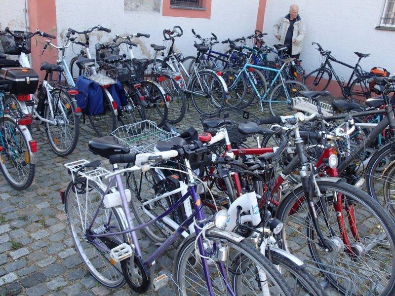 Fahrradgäste (2015) | Foto: Heike Sichting