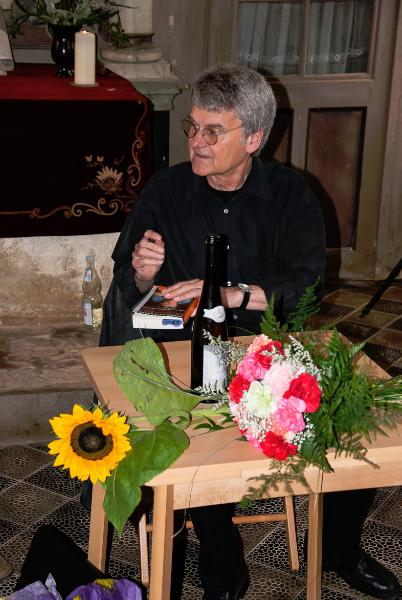 Lesung mit Bernd-Lutz Lange (06/2009) l Foto: Holger Simmat