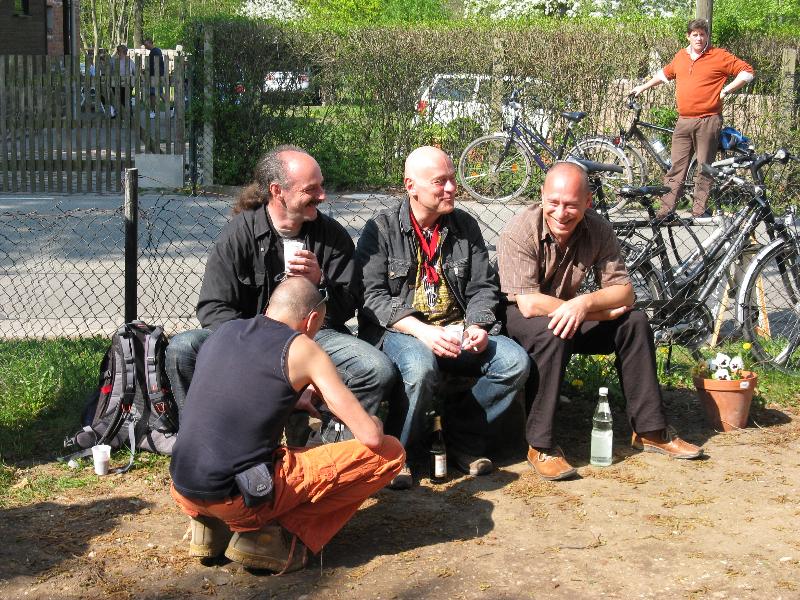 Die Musiker vom Klangprojekt (04/2009) I Foto: Holger Simmat