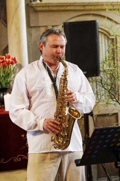 Jewgeni Larin vom Trio Klezmology (Mai 2013) | Foto: Thomas Weinbrecht