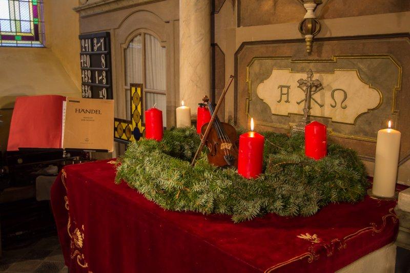 Beim Adventskonzert 2013 | Foto: Holger Simmat