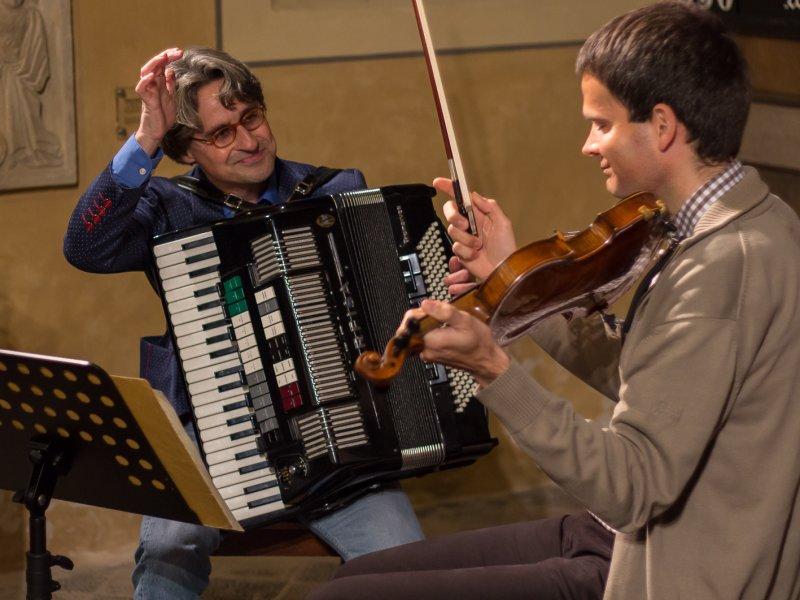 Mario Kulisch und Tilmann Jäcklin (Nov. 2013) | Foto: Holger Simmat