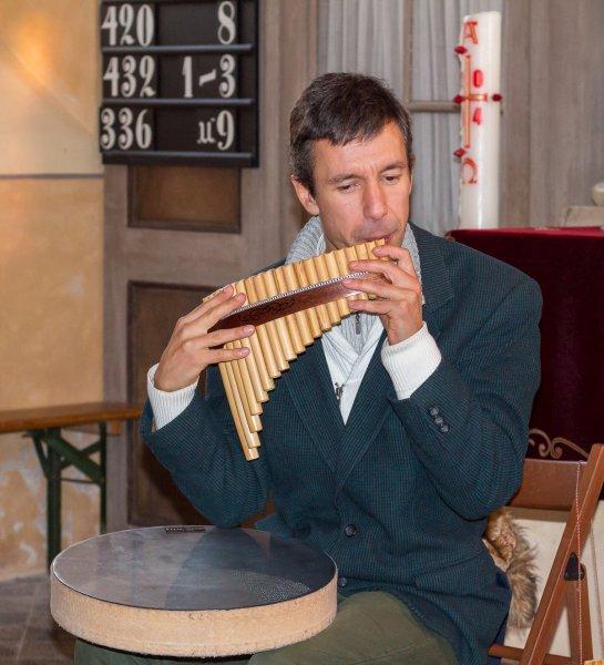Konzert mit Dobrin Stanislawow (Nov. 2013) | Foto: H. Simmat