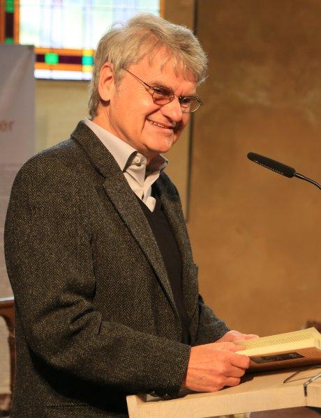 Lesung mit Bernd-Lutz Lange im August 2014 | Foto: Holger Simmat