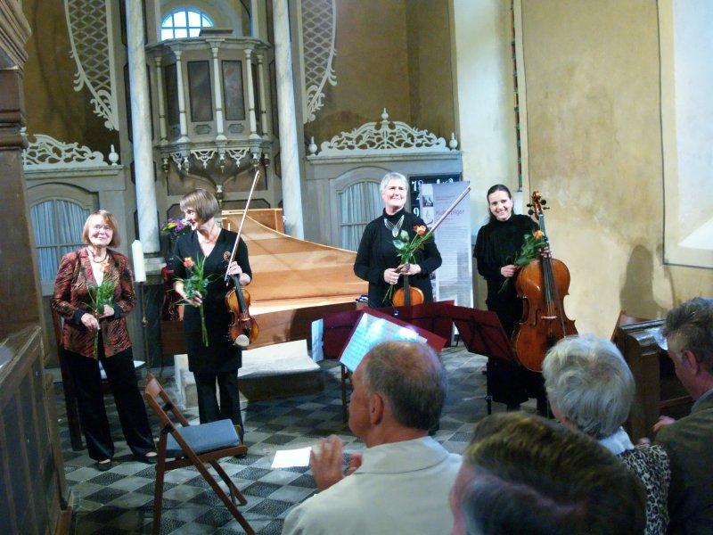 Spätsommerkonzert mit dem Leander-Trio (und Gast) | Foto: Siegfried Adaschkiewitz
