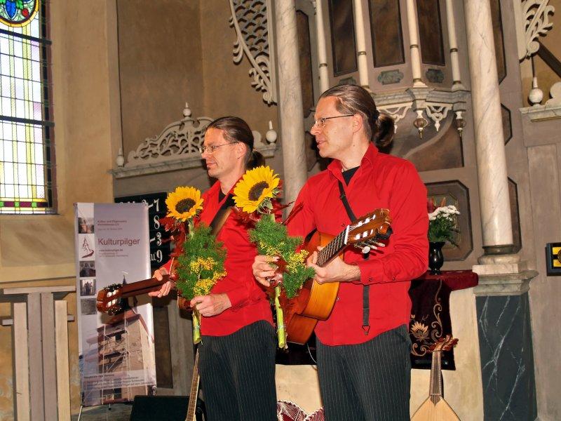 Die Guitarreros: Torsten und Volker Schubert | Foto: Siegfried Adaschkiewitz