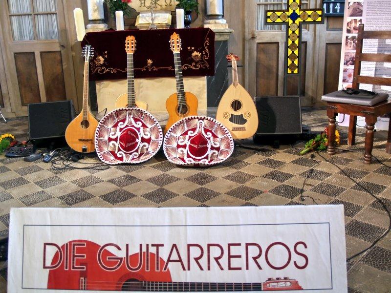 Gitarren für die Guitarreros - Oktober 2014 | Foto: Siegfried Adaschkiewitz