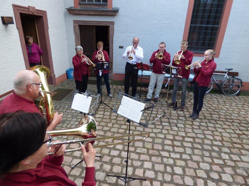 Posaunenchor zu Himmelfahrt (Mai 2017) | Foto: Siegfried Adaschkiewitz