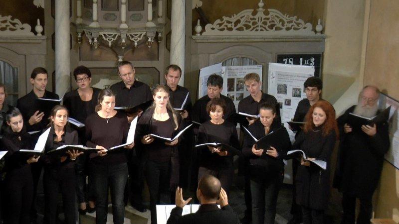 Chor Slavica Dresden (September 2018) | Foto: Siegfried Adaschkiewitz