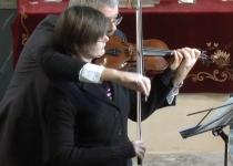 Zwei Lustige Geigen zum Ostersonntag (April 2018) | Foto: Siegfried Adaschkiewitz