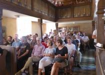 Publikum bei Tino Standhaft und Norman Daßler  (Juli 2018) | Foto: Heike Sichting