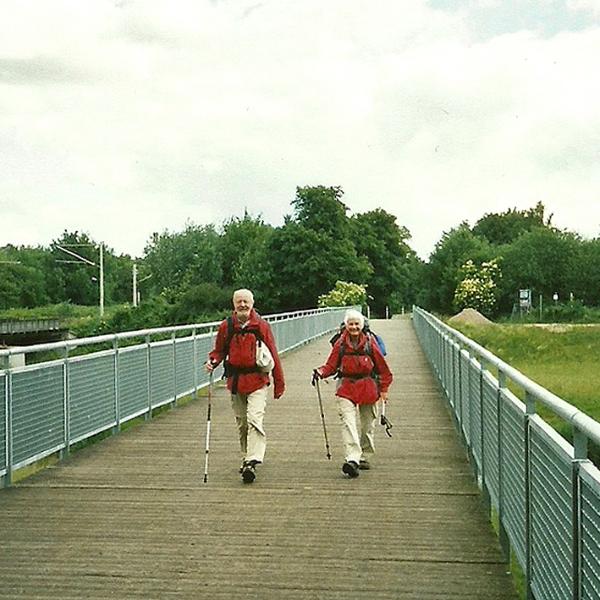 Familie Musch auf dem Weg ins Refugium (2009) | Foto: Matthias Caffier