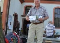 Pilger auf dem Weg von Görlitz Richtung (2012) Foto: Peggy Hamfler