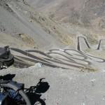 Überquerung von einem Andenpass auf 3500m - Foto Wilfried Hofmann