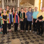 Der Pilgerchor zum 10-jährigen Kulturpilgergeburtstag (4. Juli 2015) | Foto: Holger Simmat