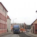 Straßensperrung B 186