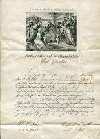 Gevatter- oder Patenbittbrief