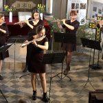 Querflötenensemble der Musikschule Leipzig (April 2019) | Foto: S. Adaschkiewitz